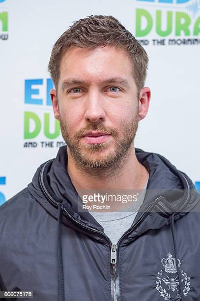 Musician Calvin Harris Visits 'The Elvis Duran Z100 Morning Show' at Z100 Studio on September 14 2016 in New York City