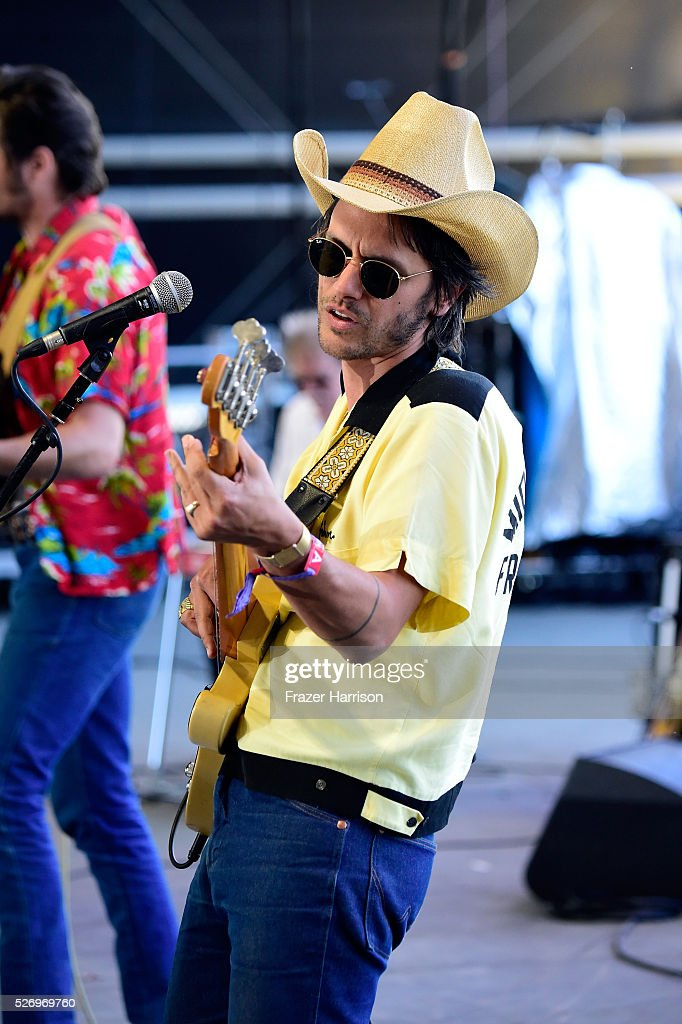 Musician Cameron Duddy of the band Midland performs onstage during 2016 Stagecoach California's Country Music Festival at Empire Polo Club on May 01, 2016 in Indio, California.