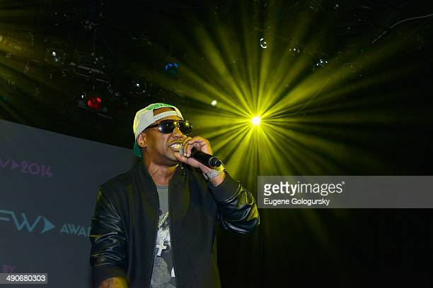 Musician Cam'ron performs at the SoundCTRL 5th annual FlashFWD awards at Irving Plaza on May 14 2014 in New York City