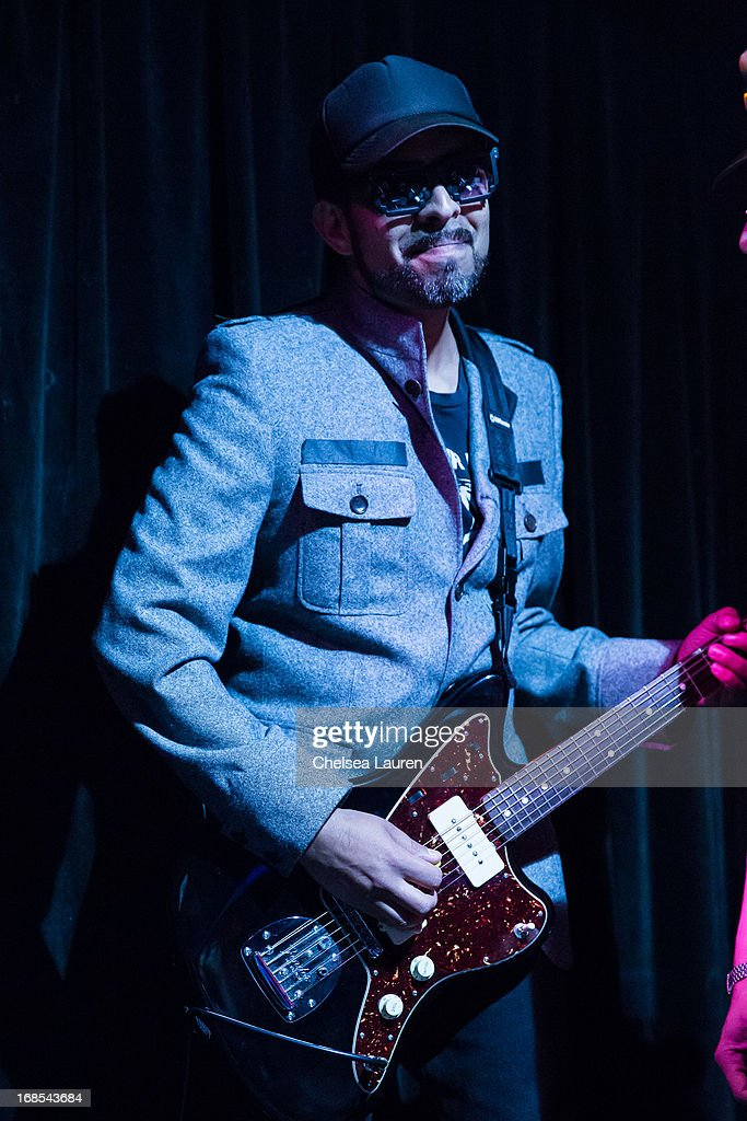 Musician Carlos Sotelo performs with Mexican Dubwiser at Viper Room on May 10, 2013 in West Hollywood, California.