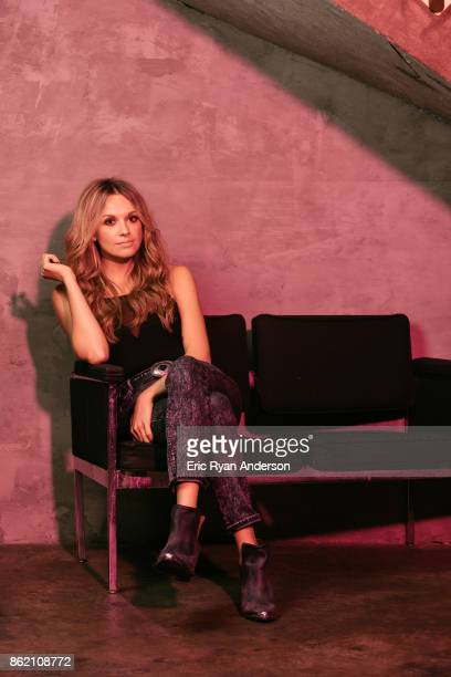 Musician Carly Pearce is photographed for Billboard Magazine on August 15 2017 in Nashville Tennessee ON DOMESTIC EMBARGO UNTIL DECEMBER 2 2017 ON...