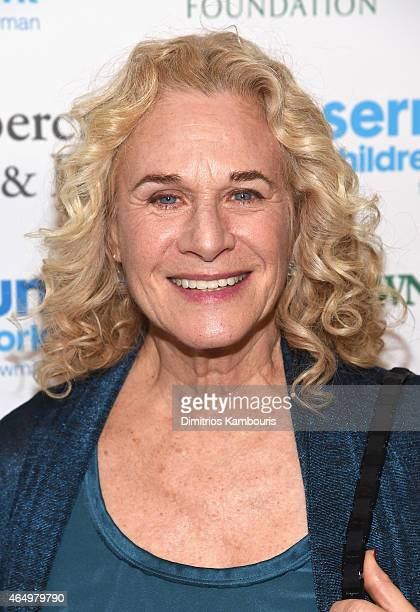 Musician Carole King attends SeriousFun Children's Network's New York City Gala at Avery Fisher Hall Lincoln Center on March 2 2015 in New York City