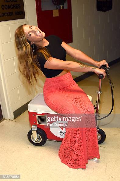 Musician Cassadee Pope attends the 2016 iHeartCountry Festival at The Frank Erwin Center on April 30 2016 in Austin Texas