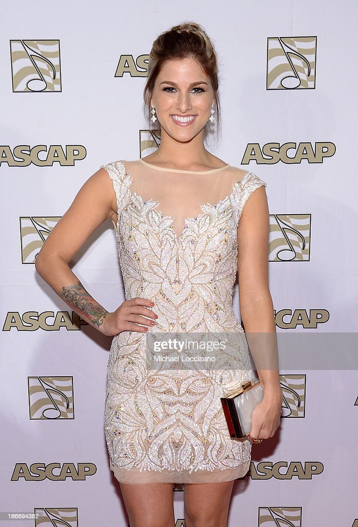 Musician <a gi-track='captionPersonalityLinkClicked' href=/galleries/search?phrase=Cassadee+Pope&family=editorial&specificpeople=5613333 ng-click='$event.stopPropagation()'>Cassadee Pope</a> attends the 51st annual ASCAP Country Music Awards at Music City Center on November 4, 2013 in Nashville, Tennessee.