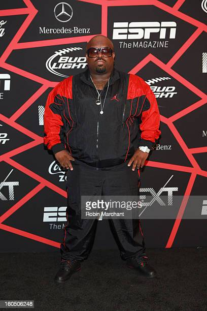 Musician Cee Lo Green attends ESPN The Magazine's 'NEXT' Event at Tad Gormley Stadium on February 1 2013 in New Orleans Louisiana