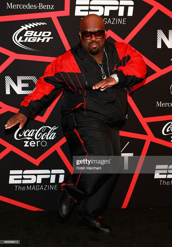 Musician Cee Lo Green attends ESPN The Magazine's 'NEXT' Event at Tad Gormley Stadium on February 1, 2013 in New Orleans, Louisiana.