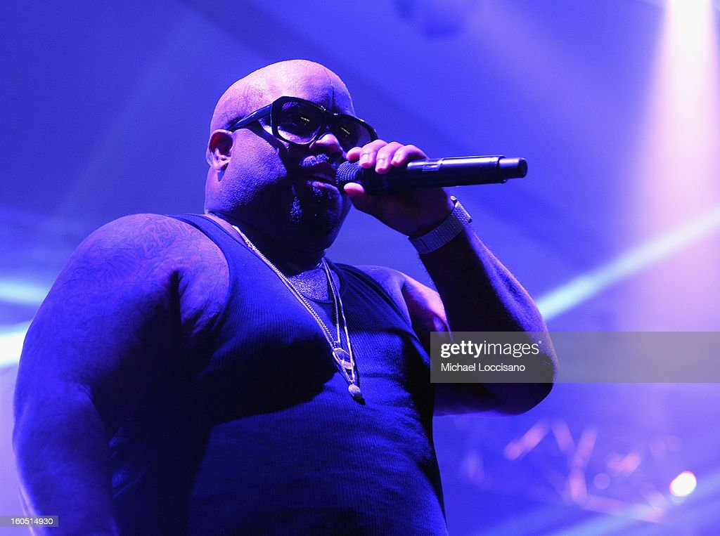 Musician Cee Lo Green performs at the ESPN The Magazine's 'NEXT' Event at Tad Gormley Stadium on February 1, 2013 in New Orleans, Louisiana.