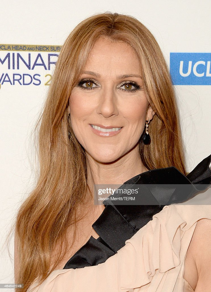 Musician Celine Dion attends the UCLA Head and Neck Surgery Luminary Awards at the Beverly Wilshire Four Seasons Hotel on January 22, 2014 in Beverly Hills, California.