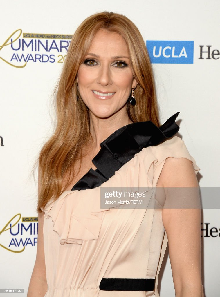 Musician <a gi-track='captionPersonalityLinkClicked' href=/galleries/search?phrase=Celine+Dion&family=editorial&specificpeople=202973 ng-click='$event.stopPropagation()'>Celine Dion</a> attends the UCLA Head and Neck Surgery Luminary Awards at the Beverly Wilshire Four Seasons Hotel on January 22, 2014 in Beverly Hills, California.
