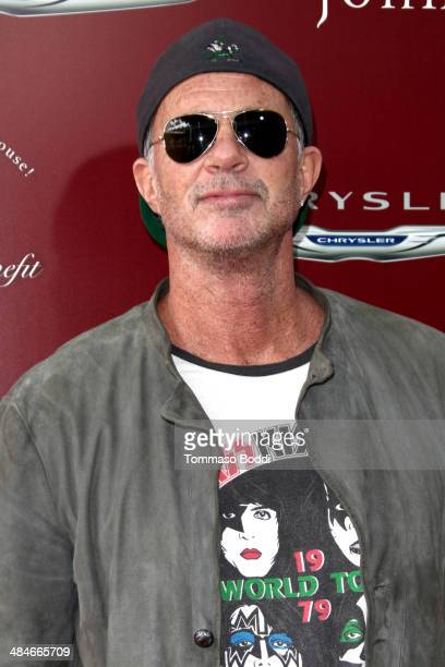 Musician Chad Smith attends the 11th annual John Varvatos Stuart House Benefit held at the John Varvatos on April 13 2014 in Los Angeles California