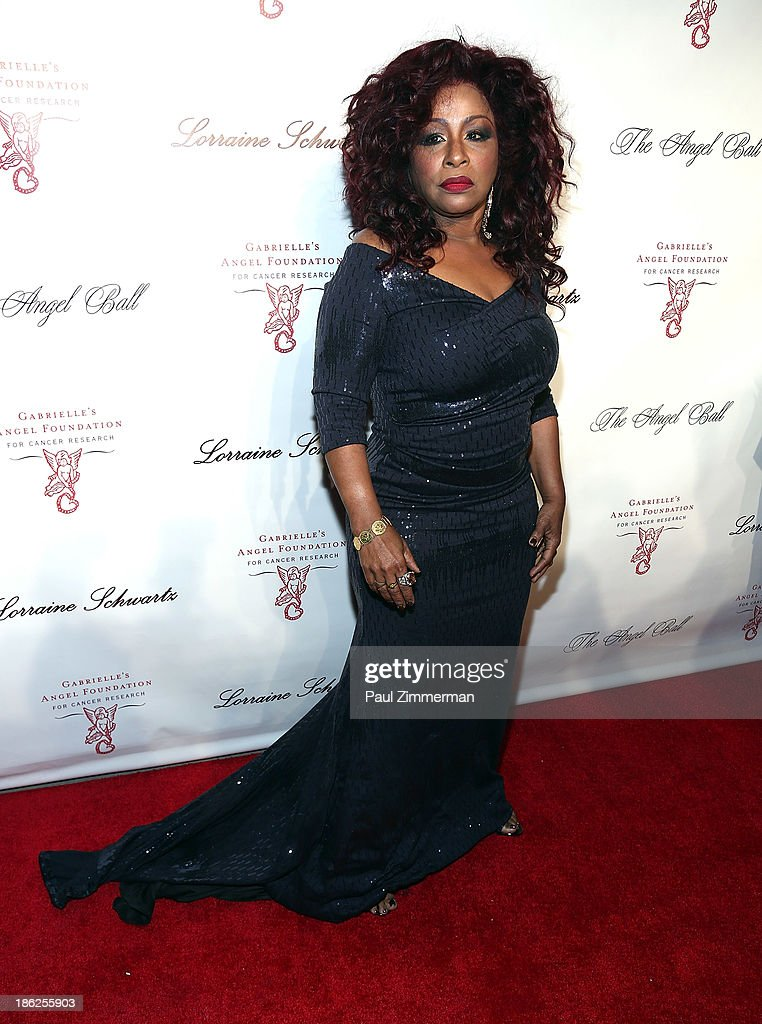 Musician <a gi-track='captionPersonalityLinkClicked' href=/galleries/search?phrase=Chaka+Khan&family=editorial&specificpeople=208691 ng-click='$event.stopPropagation()'>Chaka Khan</a> attends Angel Ball 2013 at Cipriani Wall Street on October 29, 2013 in New York City.