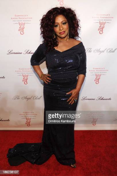 Musician Chaka Khan attends Gabrielle's Angel Foundation Hosts Angel Ball 2013 at Cipriani Wall Street on October 29 2013 in New York City