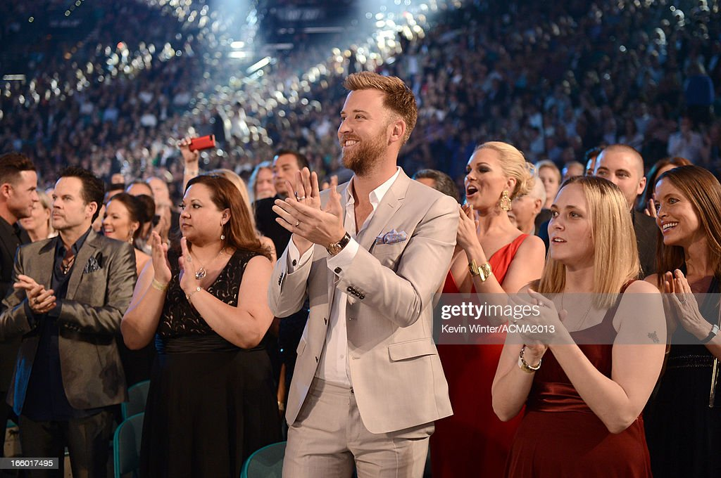 Musician <a gi-track='captionPersonalityLinkClicked' href=/galleries/search?phrase=Charles+Kelley&family=editorial&specificpeople=3935435 ng-click='$event.stopPropagation()'>Charles Kelley</a> attends the 48th Annual Academy of Country Music Awards at the MGM Grand Garden Arena on April 7, 2013 in Las Vegas, Nevada.