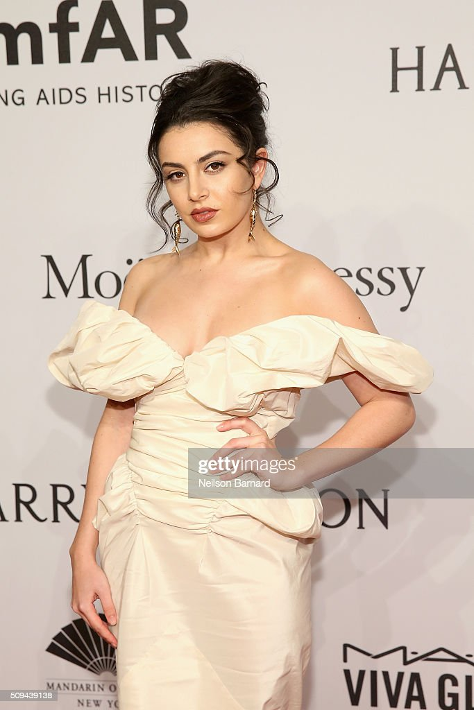 Musician <a gi-track='captionPersonalityLinkClicked' href=/galleries/search?phrase=Charli+XCX&family=editorial&specificpeople=5807231 ng-click='$event.stopPropagation()'>Charli XCX</a> attends the 2016 amfAR New York Gala at Cipriani Wall Street on February 10, 2016 in New York City.