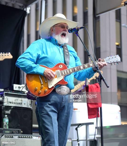 Musician Charlie Daniels performs on Fox Friends' AllAmerican Summer Concert Series at FOX Studios on June 16 2017 in New York City