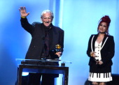 Musician Charlie Musselwhite accepts the Best Blues Album award for 'Get Up' onstage onstage during the 56th GRAMMY Awards PreTelecast at Nokia...