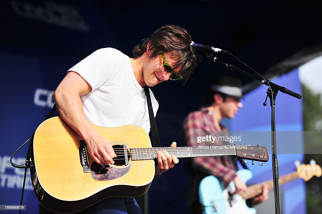 Musician Charlie Worsham performs at The ACM Experience during the 48th Annual Academy of Country Music Awards at the Orleans Arena on April 6, 2013 in Las Vegas, Nevada.