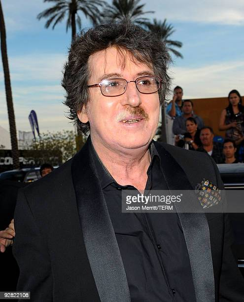 Musician Charly Garcia arrives at the 10th annual Latin GRAMMY Awards held at Mandalay Bay Events Center on November 5 2009 in Las Vegas Nevada