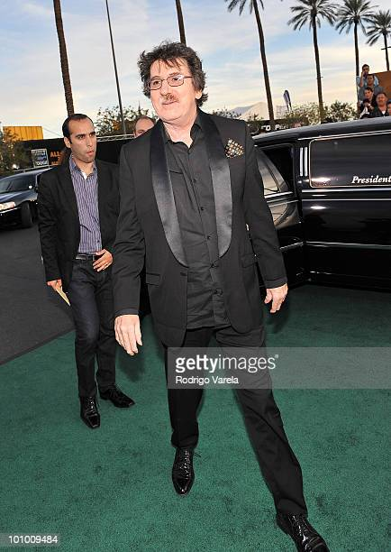 Musician Charly Garcia attends the 10th Annual Latin GRAMMY Awards held at the Mandalay Bay Events Center on November 5 2009 in Las Vegas Nevada