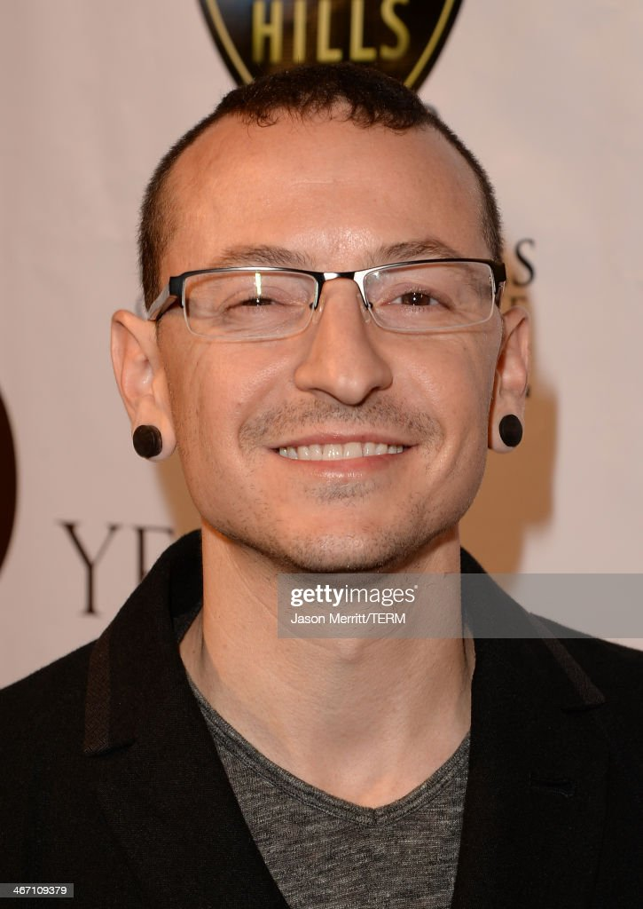 Musician <a gi-track='captionPersonalityLinkClicked' href=/galleries/search?phrase=Chester+Bennington&family=editorial&specificpeople=213970 ng-click='$event.stopPropagation()'>Chester Bennington</a> attends the
