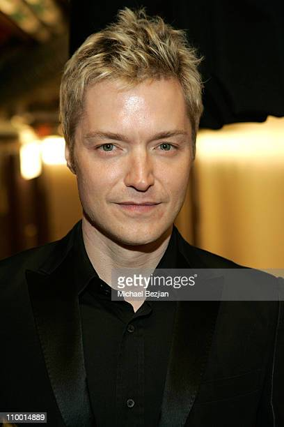 Musician Chris Botti backstage at The Thelonious Monk Institute of Jazz and The Recording Academy Los Angeles chapter honoring Herbie Hancock all...