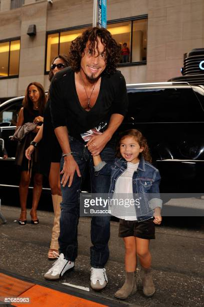 Musician Chris Cornell attends the Conde Nast Media Group's Fifth Annual Fashion Rocks at Radio City Music Hall on September 5 2008 in New York City