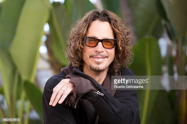Musician Chris Cornell of Soundgarden is photographed for Los Angeles Times on July 31 2015 in Beverly Hills California PUBLISHED IMAGE CREDIT MUST...
