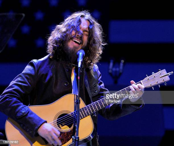 Musician Chris Cornell of Soundgarden performs at the 'Obama for America' Campaign Fundraiser at Nob Hill Masonic Auditorium on February 16 2012 in...