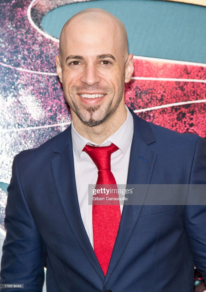 Musician Chris Daughtry attends 'Man Of Steel' World Premiere at Alice Tully Hall at Lincoln Center on June 10, 2013 in New York City.
