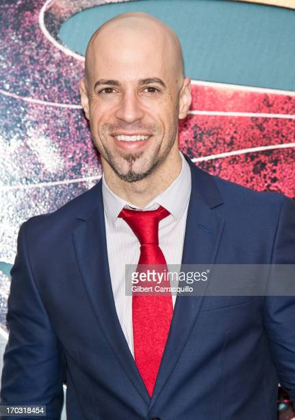 Musician Chris Daughtry attends 'Man Of Steel' World Premiere at Alice Tully Hall at Lincoln Center on June 10 2013 in New York City