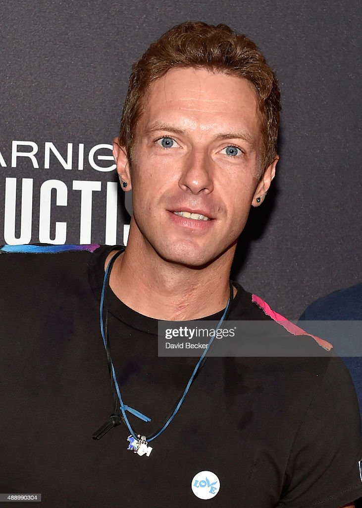 Musician Chris Martin of Coldplay attends the 2015 iHeartRadio Music Festival at MGM Grand Garden Arena on September 18 2015 in Las Vegas Nevada