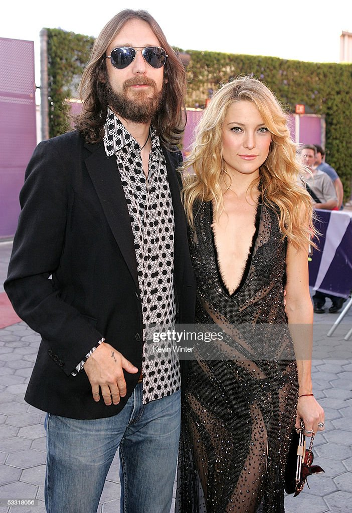 Musician Chris Robinson and wife/actress Kate Hudson arrive at the premiere of 'Skeleton Key' at Universal Studios Cinema at Universal CityWalk on...