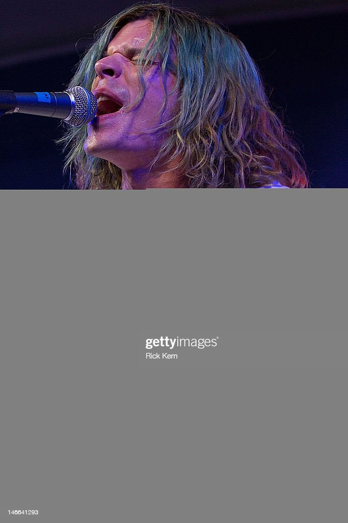 Musician Christian Zucconi of Grouplove performs at Stubb's Bar-B-Q on March 25, 2012 in Austin, Texas.