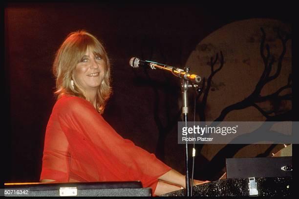 Musician Christine McVie of Fleetwook Mac