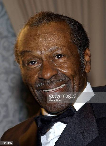 Musician Chuck Berry attends the 50th Annual BMI Pop Awards May 14 2002 in Beverly Hills CA