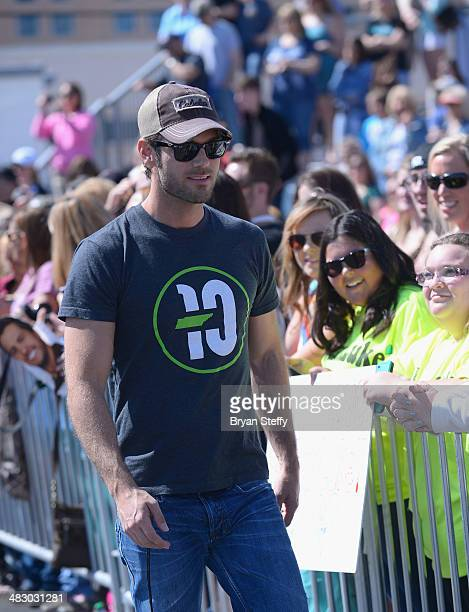 Musician Chuck Wicks attends the ACM Cabela's Great Outdoor Archery Event during the 49th Annual Academy of Country Music Awards at The LINQ on April...