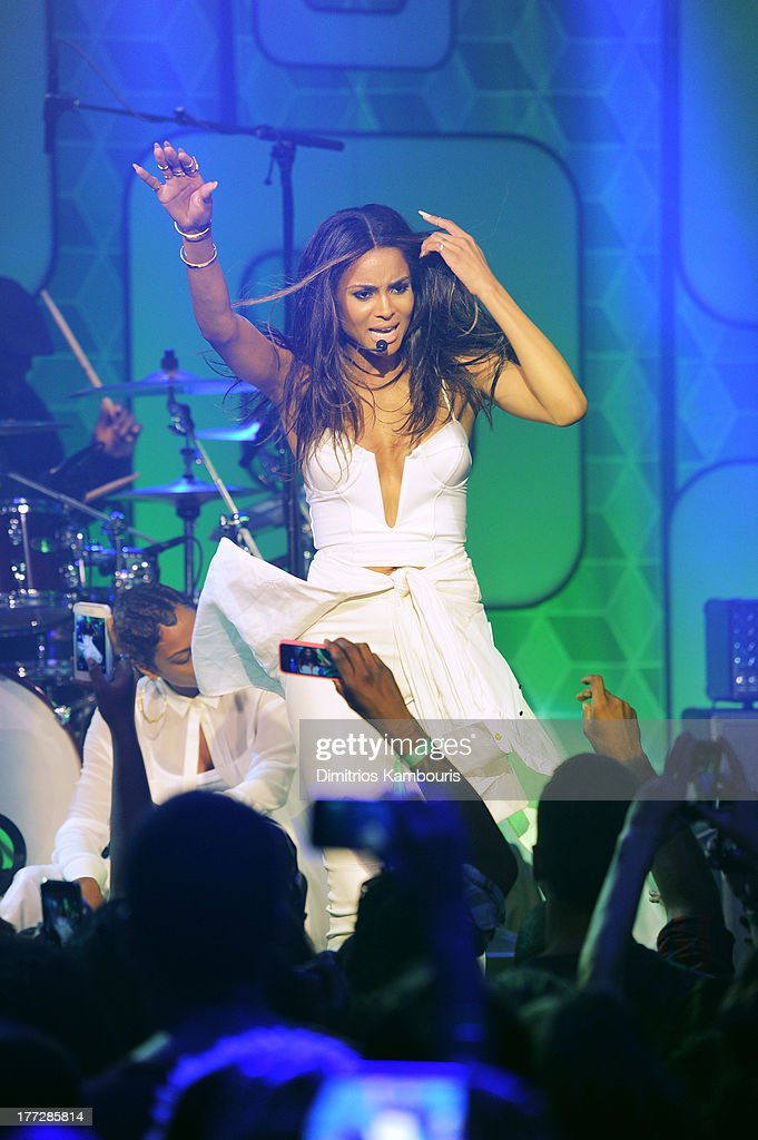 Musician Ciara performs at Easy, Breezy, Brooklyn hosted by Becky G and presented by MTV and COVERGIRL at Music Hall of Williamsburg on August 22, 2013 in the Brooklyn borough of New York City.