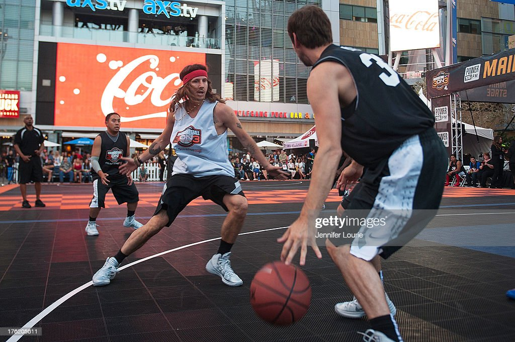 Musician Cisco Adler attends the 5th annual Nike basketball 3ON3 tournament presented by NBC4 southern california held at L.A. LIVE on August 9, 2013 in Los Angeles, California.
