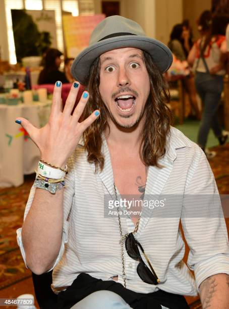 Musician Cisco Adler attends the Kari Feinstein Music Festival Style Lounge at La Quinta Resort and Club on April 13 2014 in La Quinta California