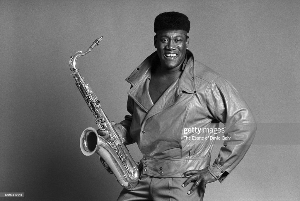 Musician <a gi-track='captionPersonalityLinkClicked' href=/galleries/search?phrase=Clarence+Clemons&family=editorial&specificpeople=558760 ng-click='$event.stopPropagation()'>Clarence Clemons</a> poses for a portrait in December, 1985 in New York City, New York.