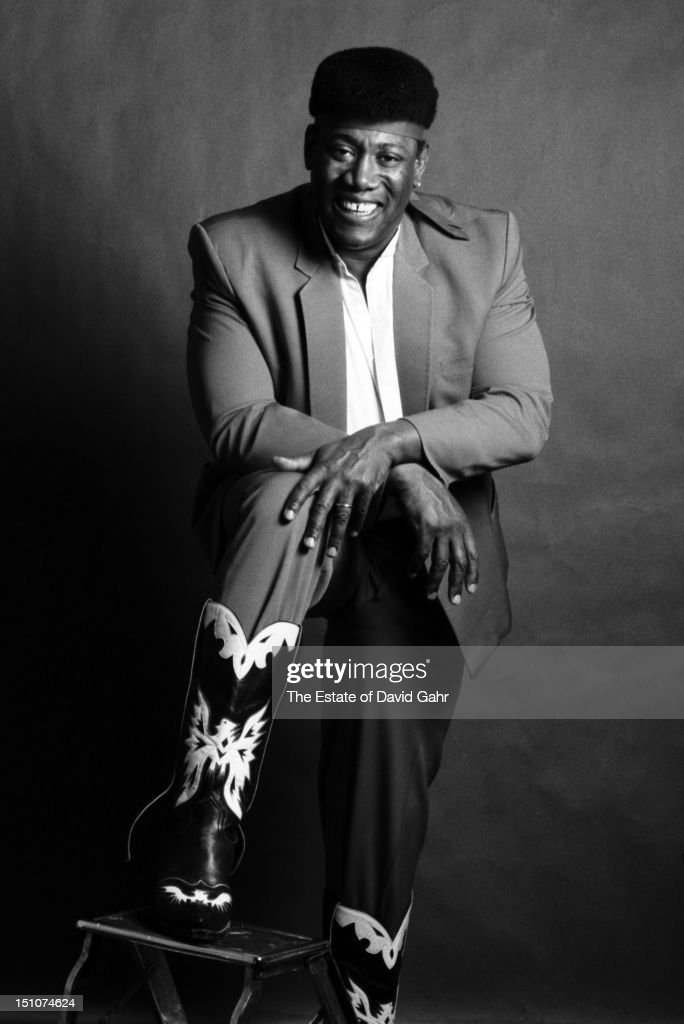 Musician Clarence Clemons poses for a portrait in December, 1985 in New York City, New York.