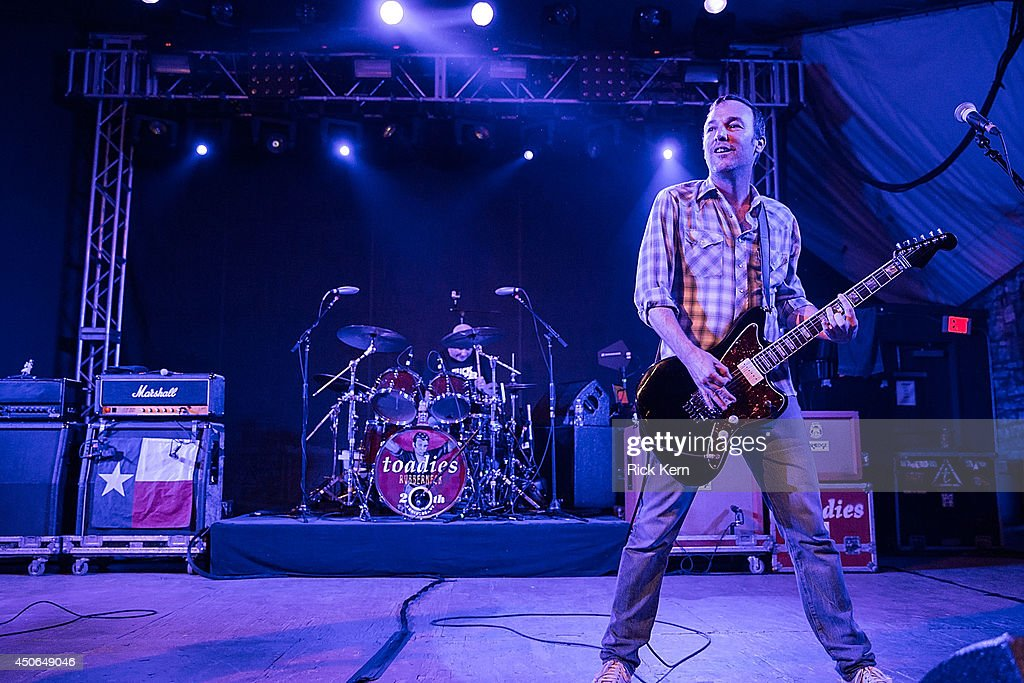 Musician Clark Vogeler of the Toadies performs in concert during the Rubberneck 20th Anniversary Tour at Stubb's Bar-B-Q on June 14, 2014 in Austin, Texas.