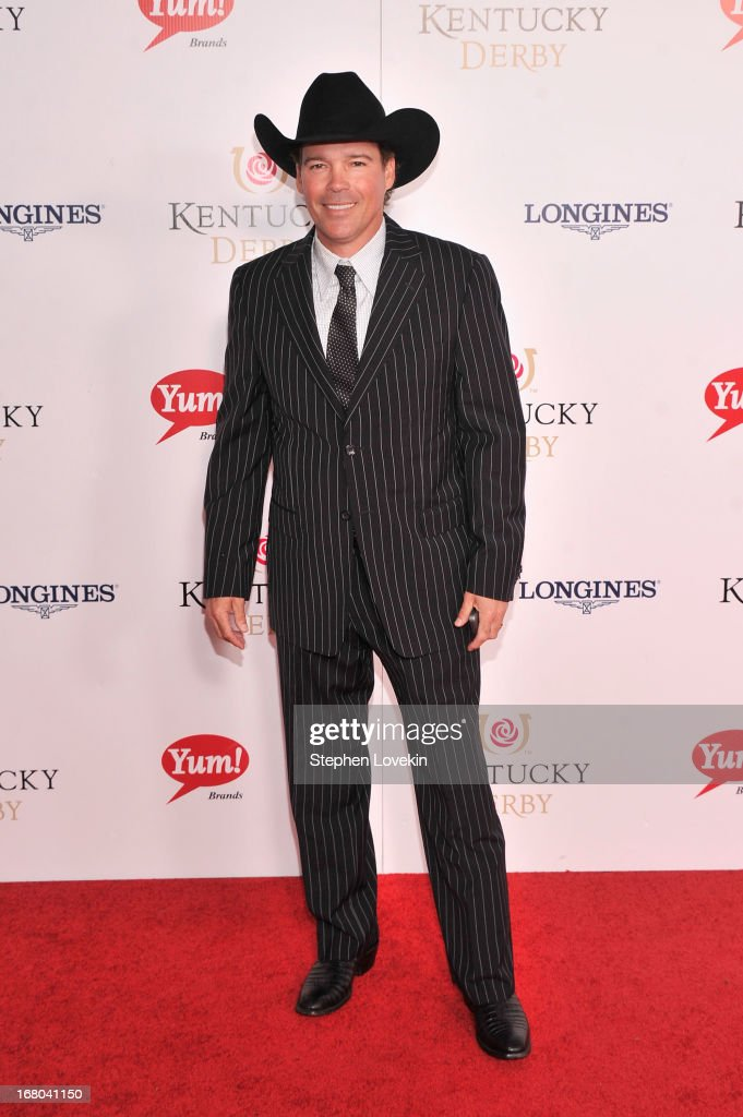 Musician Clay Walker attends the 139th Kentucky Derby at Churchill Downs on May 4, 2013 in Louisville, Kentucky.