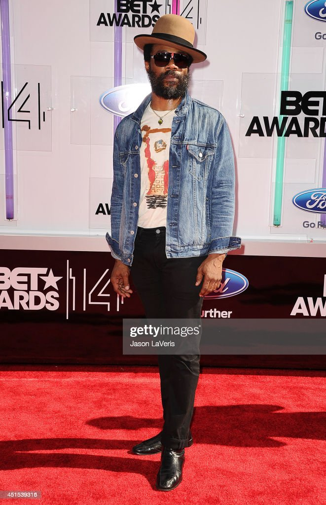 Musician Cody ChesnuTT attends the 2014 BET Awards at Nokia Plaza LA LIVE on June 29 2014 in Los Angeles California