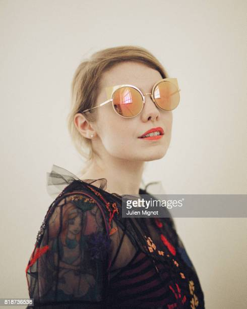 Musician Coeur de Pirate is photographed for Grazia Magazine on May 19 2016 in Cannes France