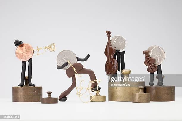 Musiker Münzen