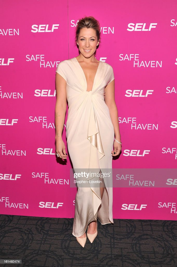 Musician Colbie Caillat attends SELF Magazine and Relativity Media's special New York screening of 'Safe Haven' at Landmark Theatres Sunshine Cinema on February 11, 2013 in New York City.