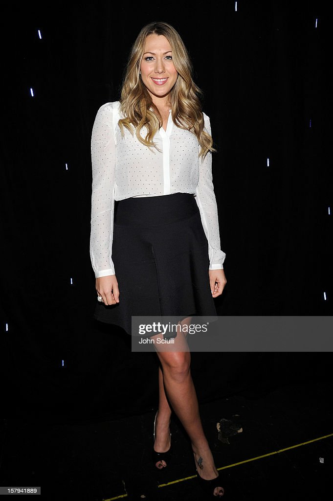 Musician Colbie Caillat attends the American Giving Awards presented by Chase held at the Pasadena Civic Auditorium on December 7 2012 in Pasadena...