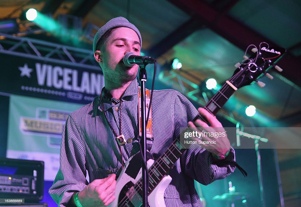 Musician Cole Alexander of Black Lips performs onstage at the VICE Kills TX Music Showcase during the 2013 SXSW Music, Film + Interactive Festival at Viceland on March 16, 2013 in Austin, Texas.