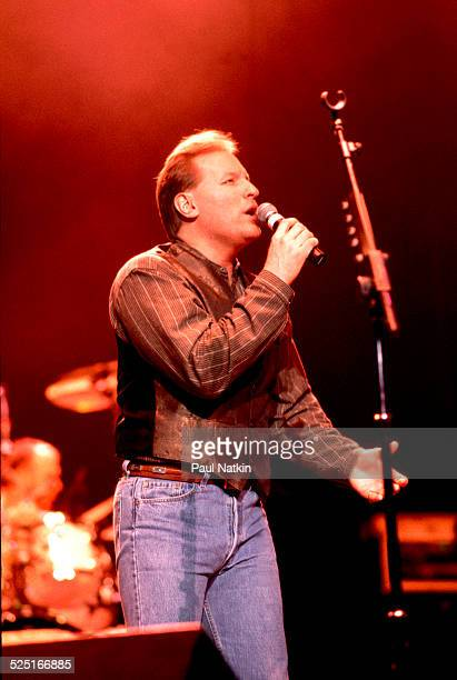Musician Collin Raye performs Chicago Illinois November 25 1996